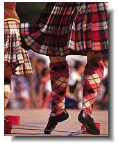 Be sure to see some traditional Scottish dancing