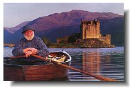 Eilean Donan castle, one of the most romantic Scottish castles