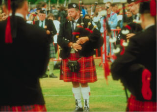 Scottish pipers